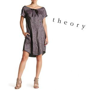 NWT Theory Linen Off Shoulder Dress 2